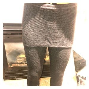 Lululemon wool yoga pants